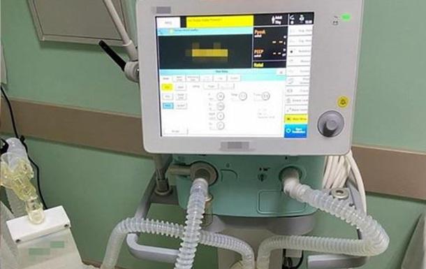 В Сумах из-за аферы больница не получила 18 аппаратов ИВЛ
