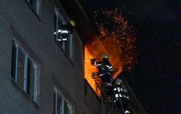 Ночью в Днепре горело общежитие