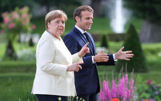 Меркель і Макрон - за швидке схвалення плану Єврокомісії