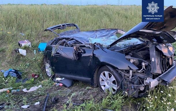 Нічна ДТП на трасі Київ-Одеса зібрала багатокілометровий затор