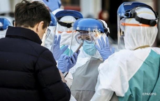 В больницах Украины удвоился прирост больных COVID