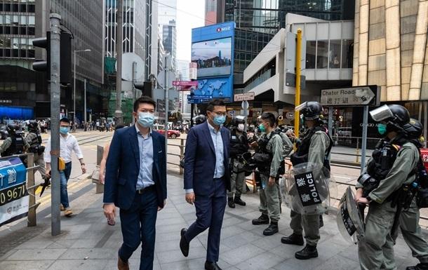 Резонансный закон о Гонконге вступил в силу