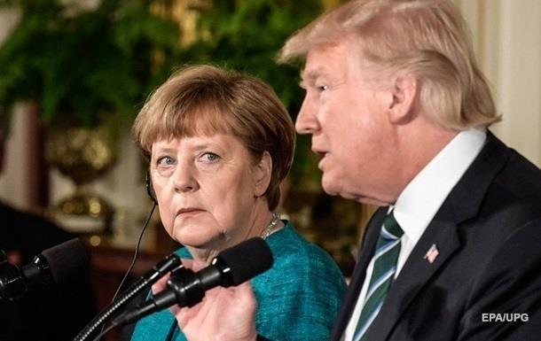 Трамп обзывал Меркель дурой : СМИ узнали о скандальных переговорах