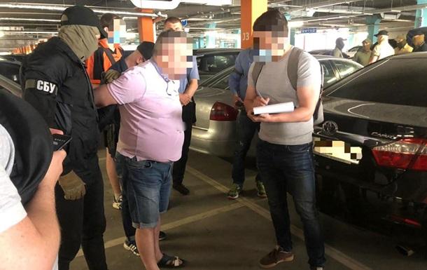 В Киеве задержали экс-банкира, 'торговавшего' должностями в Нацбанке - СБУ