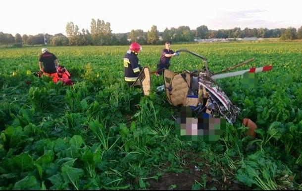 В Польше упал вертолет: есть погибшие
