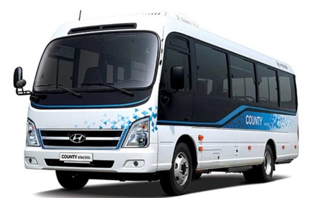 Hyundai представила первый электро миниавтобус