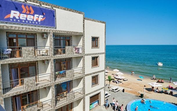 В Одесской области открылся новый уникальный морской отель Sea Resort  REEFF