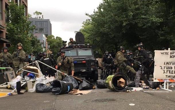 Поліція США розігнала  автономну зону  Сіетла