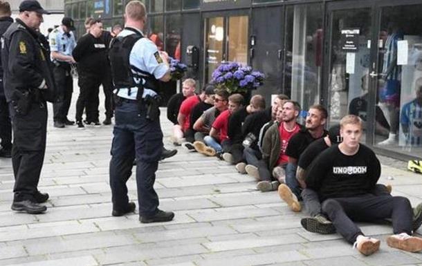 В Дании полиция избила фанатов из-за дистанции