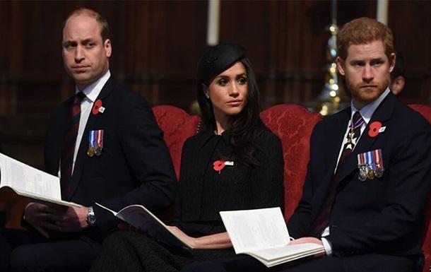 Принц Гаррі і принц Вільям помирилися - ЗМІ