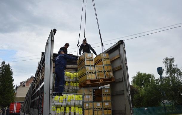 Прикарпатье получило гуманитарную помощь из Швеции