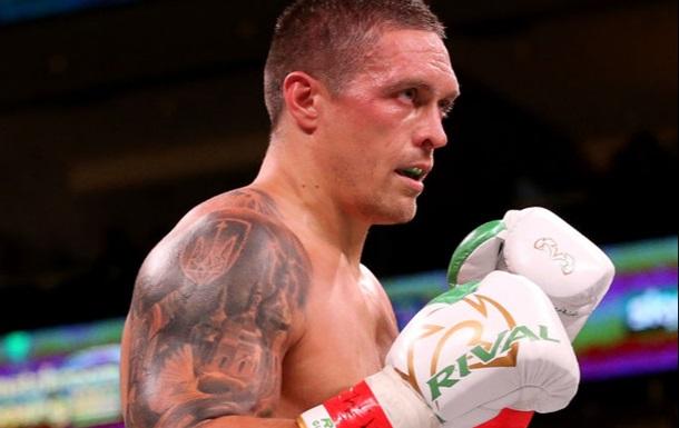 Усик занял второе место в рейтинге WBC