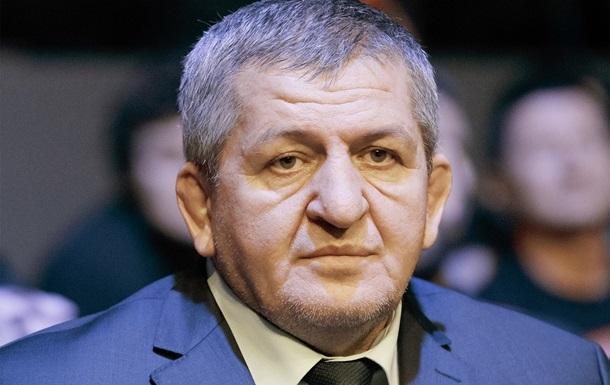 Помер батько Хабіба Нурмагомедова