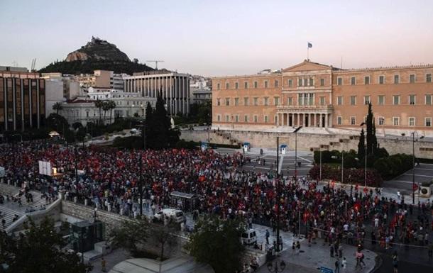У Греції розгорілися протести через суперечливий законопроект