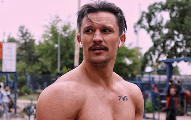 Украинский актер обнажился в поле со своей возлюбленной