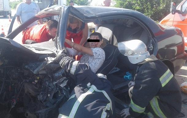 ДТП під Кирилівкою: шість постраждалих