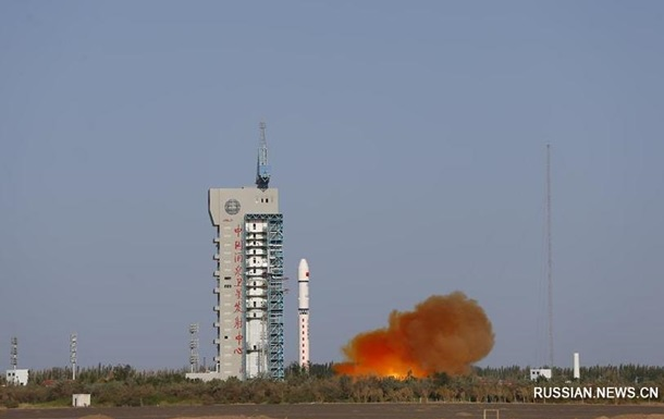 Китай запустил спутник для исследования космической среды