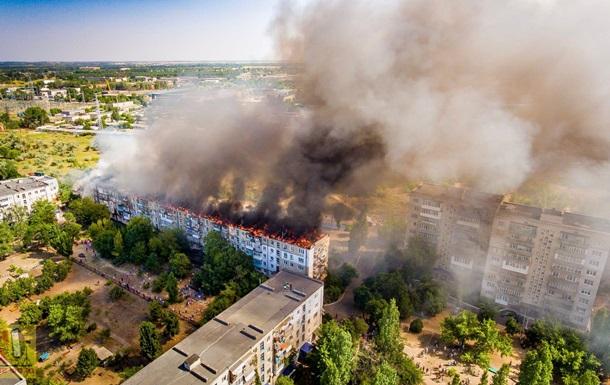 Жильцов горевшего дома в Новой Каховке отселят
