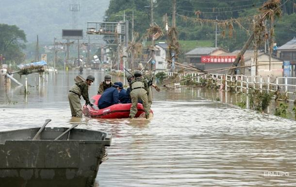 Непогода в Японии: погибли не менее 40 человек
