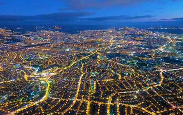 В NASA показали ночную Анкару с космоса