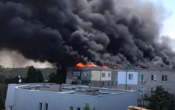 В Новой Каховке жители ночевали в сгоревшем доме