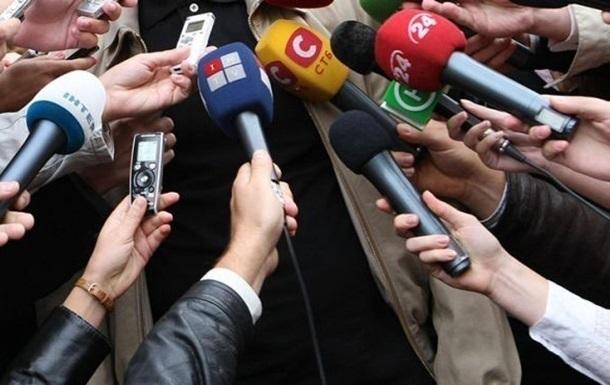 На журналистов за полгода напали 40 раз