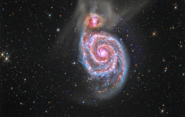 Hubble снял 'сверхскоростную' галактику