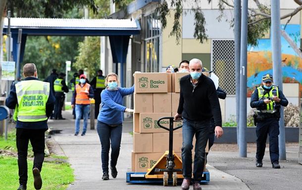 У Мельбурні на півтора місяці введуть жорсткий карантин