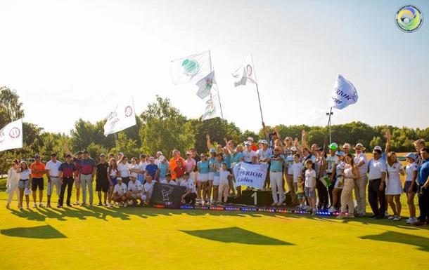 Чемпионат Украины по гольфу собрал рекордное количество спортсменов