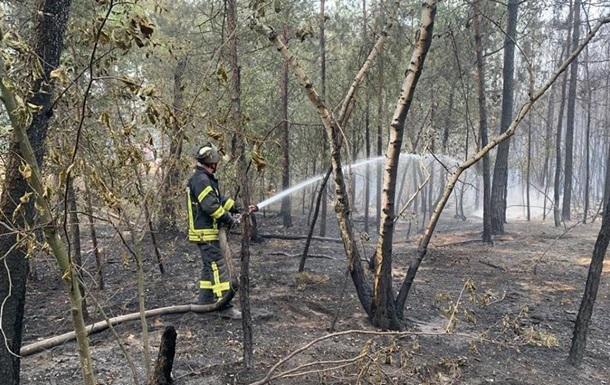 Пожары на Луганщине: рассматривают три версии