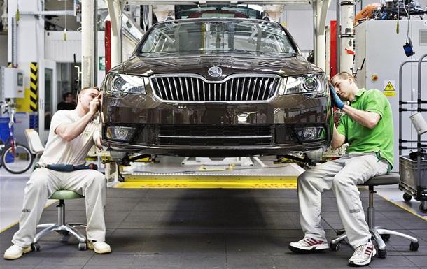 Производство автомобилей в Украине за полгода упало на 36%