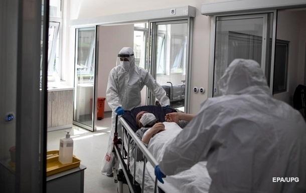 Каждый пятый больной COVID в Украине попадает в реанимацию