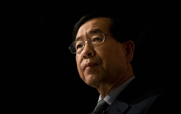 Смерть мэра Сеула: подозревают самоубийство