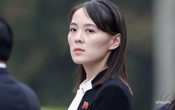 Сестра Кім Чен Ина вважає марним новий саміт зі США