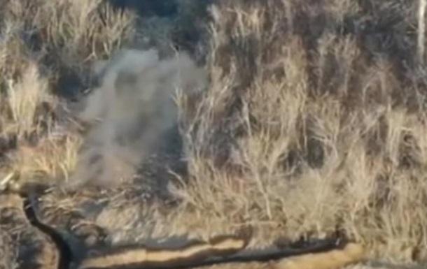 ВСУ уничтожили позиции террористов на Бахмутке