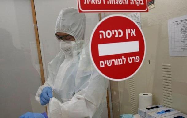 COVID-19: в Ізраїлі зафіксували рекордну кількість заражень