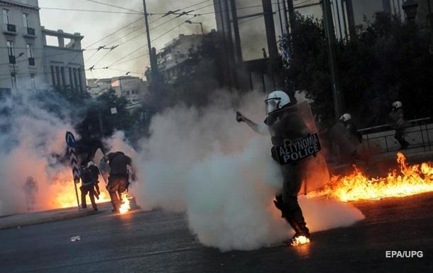 В Афінах спалахнули протести. Фоторепортаж
