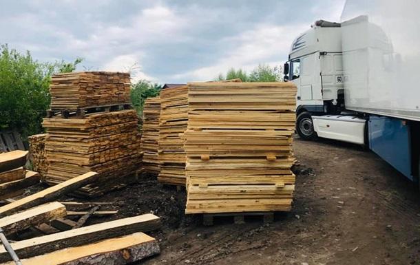 Полиция провела обыски в лесхозах Прикарпатья