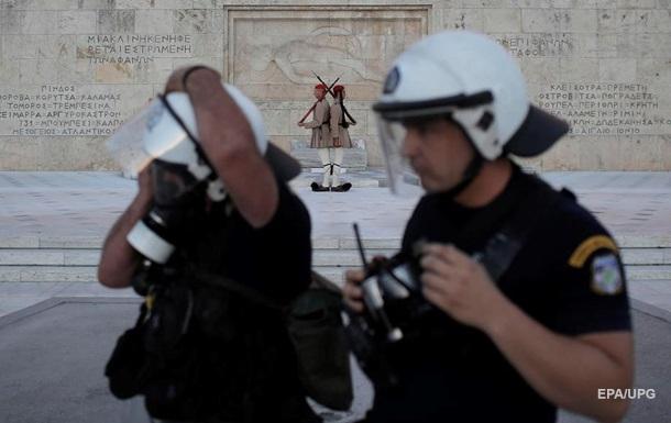 У Греції парламент прийняв закон про протести