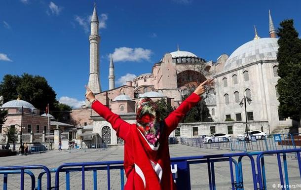 Софійський собор у Стамбулі стане мечеттю 24 липня - Ердоган