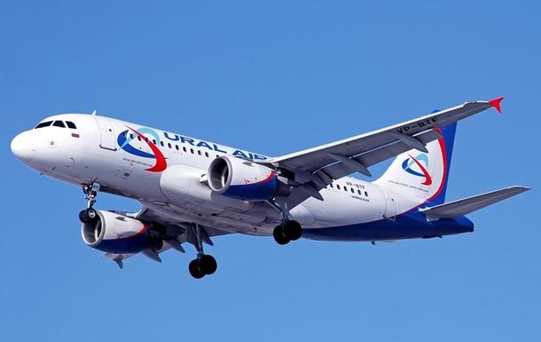 Над Донбасом зафіксували пасажирський літак