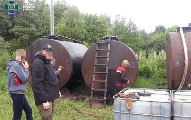 СБУ перекрыла незаконную нефтедобычу на Прикарпатье