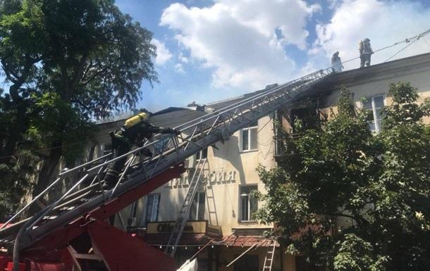 В Одессе загорелся жилой дом, которому более 200 лет