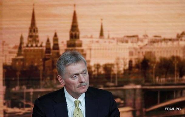 Кремль упрекнул Киев в бездействии по Донбассу
