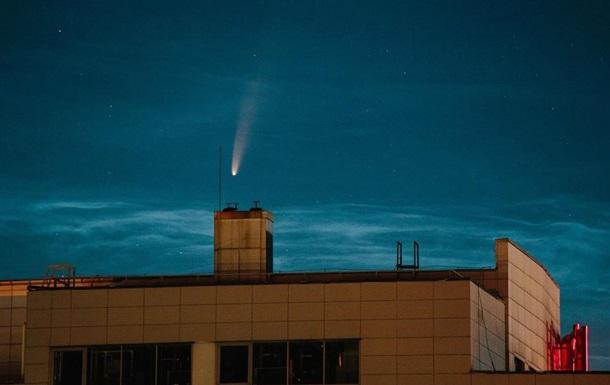 В Україні зробили фото комети Neowise