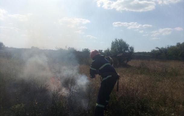 На Миколаївщині за добу виникло 15 пожеж