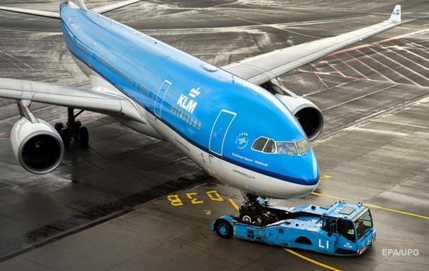 Авиакомпания KLM получит пакет помощи в €3,4 млрд