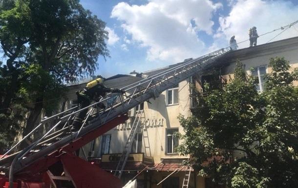 Спасатели озвучили возможную причину пожара в Одессе