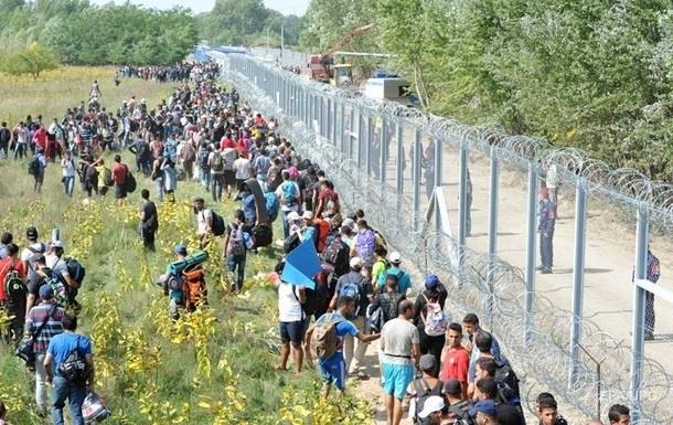 На кордонах Євросоюзу знизилася кількість нелегальних мігрантів