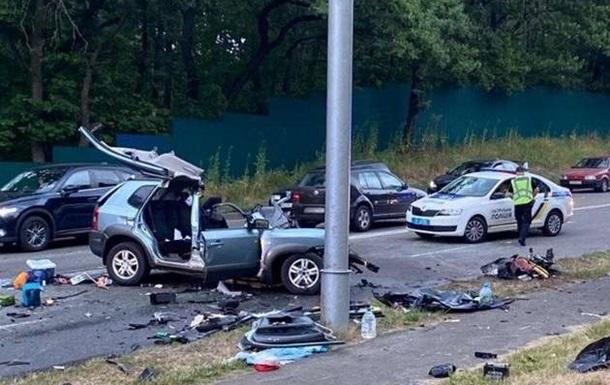 П яна ДТП під Києвом: суд заарештував винуватця